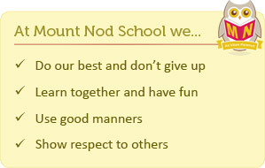 Mount Nod School Motto